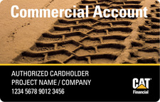 Cat Financial Commercial Account
